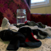 Is all clutter bad? (My stray sock pile, and a case for embracing some disorder as part of life)