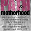 My Path to Motherhood: I am a stepmom