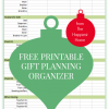 5 Ways To Organize Your Holiday Gift Lists (Plus A Free Download!)
