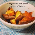 save time in kitchen