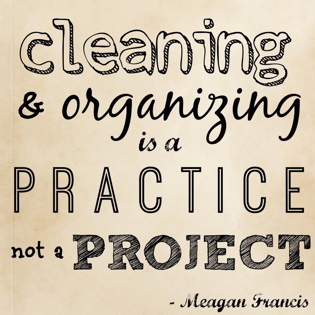 cleaning, organizing