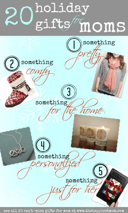 holiday gifts for moms, gift guide