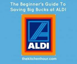 ALDI, saving money