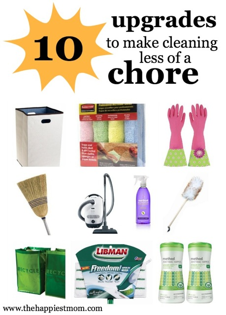 Upgraded cleaning products