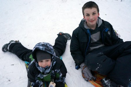 kids in the snow, snow days