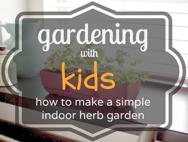 Gardening with kids, the (really) easy way