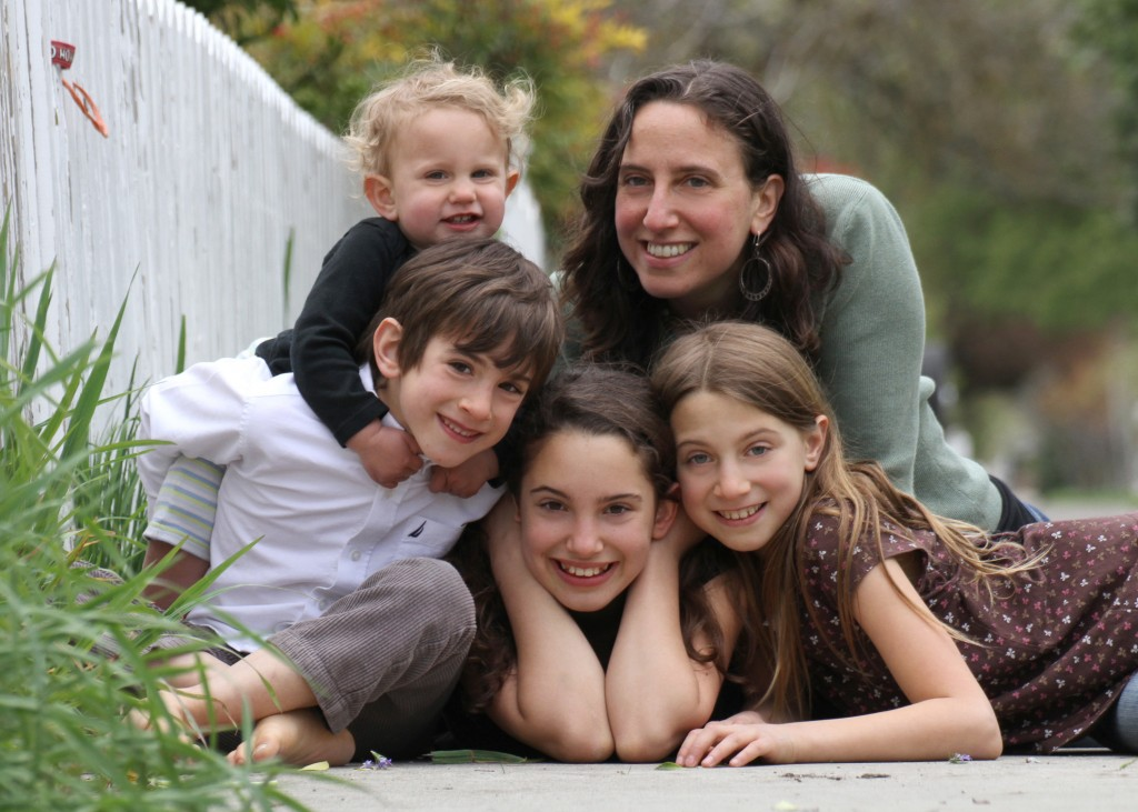 Jennifer Margulis and kids