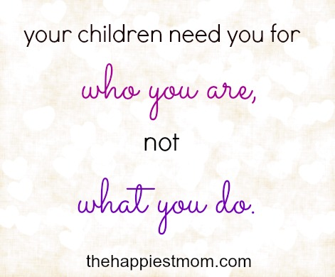 It's about who we are, not what we do. - The Happiest Home