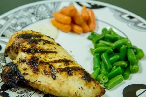 grilled chicken with ranch marinade
