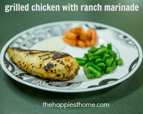 grilled chicken ranch marinade