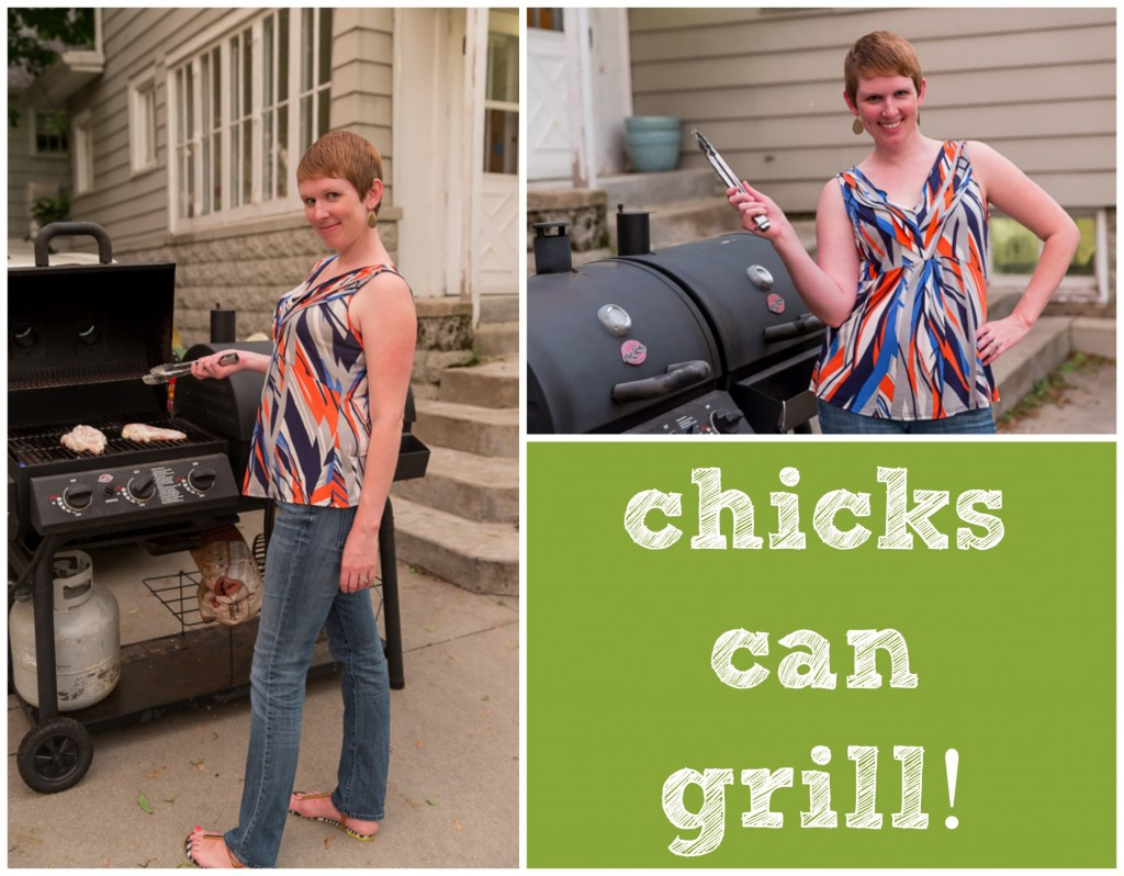 Don't-be-afraid-of-the-grill chicken with ranch marinade