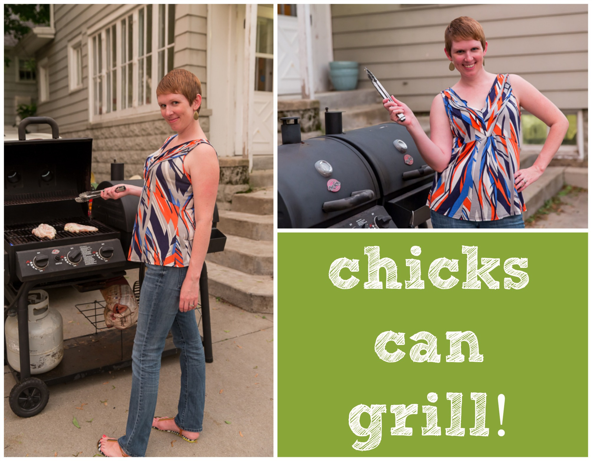 chicks can grill