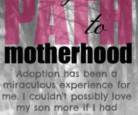 path to motherhood Claire