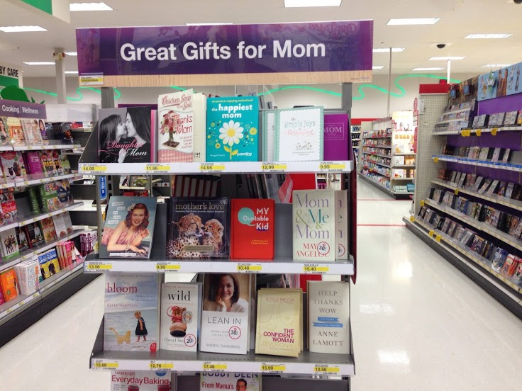 the happiest mom at target