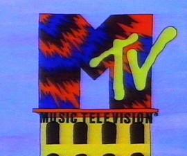 MTV, 1980s, logo
