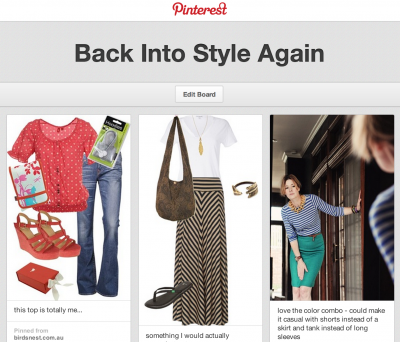 mom style Pinterest board