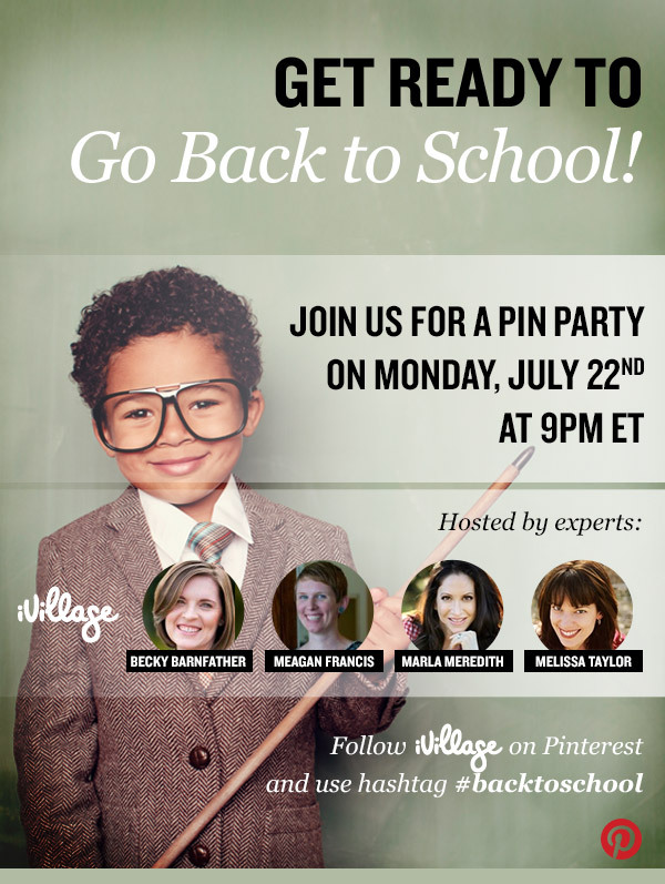 ivillage pin party