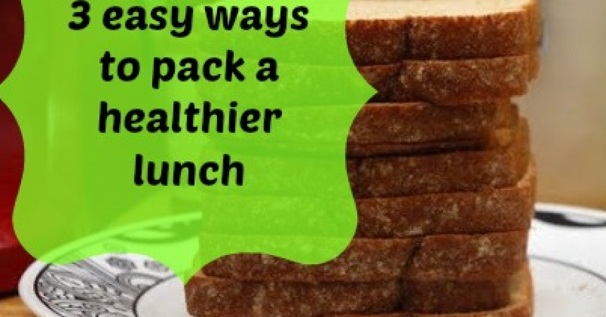 pack healthy lunch