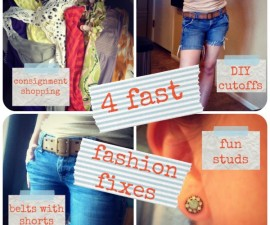 4 fast fashion fixes for moms