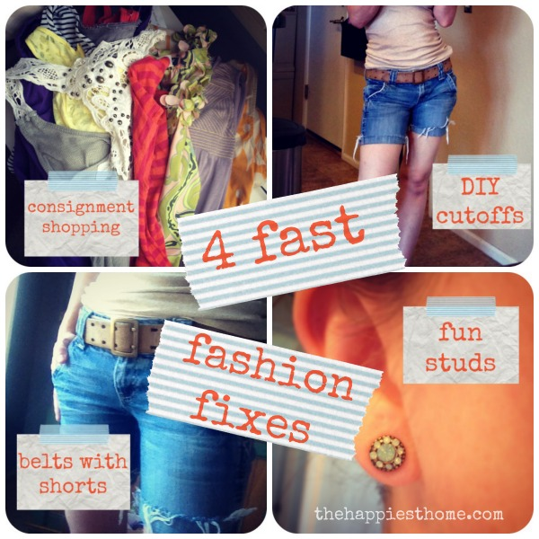 4 fast fashion fixes