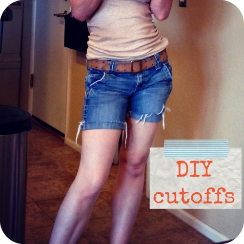 DIY cutoffs