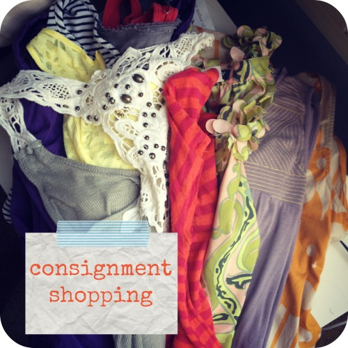 consignment shopping