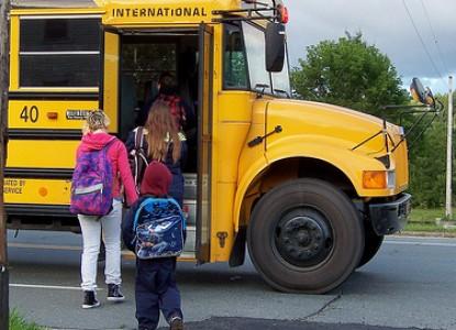 school bus, kids, back to school