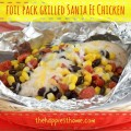 foil grilled chicken