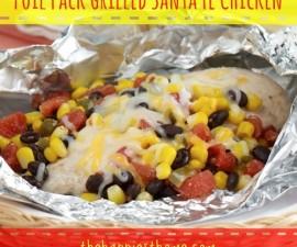 foil grilled chicken
