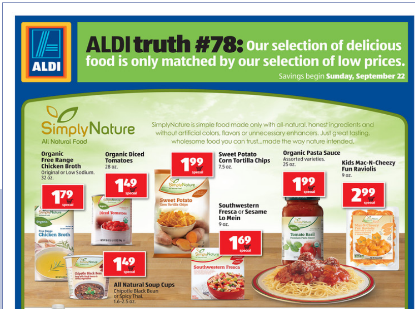 ALDI sales