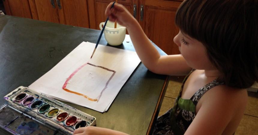 preschool, painting