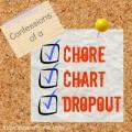 confessions chore chart dropout
