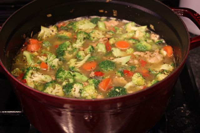 Recipe: Lentil Soup with Italian Sausage and Vegetables - The Happiest ...