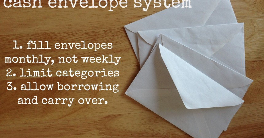 how we re making the cash envelope system work for us the happiest