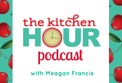 The Kitchen Hour Podcast Logo - frame
