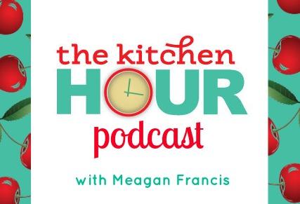 The Kitchen Hour Podcast Logo - frame