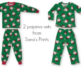 Christmas PJ Giveaway at The Happiest Home