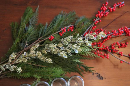 DIY Holiday Centerpiece Hostess Gift3