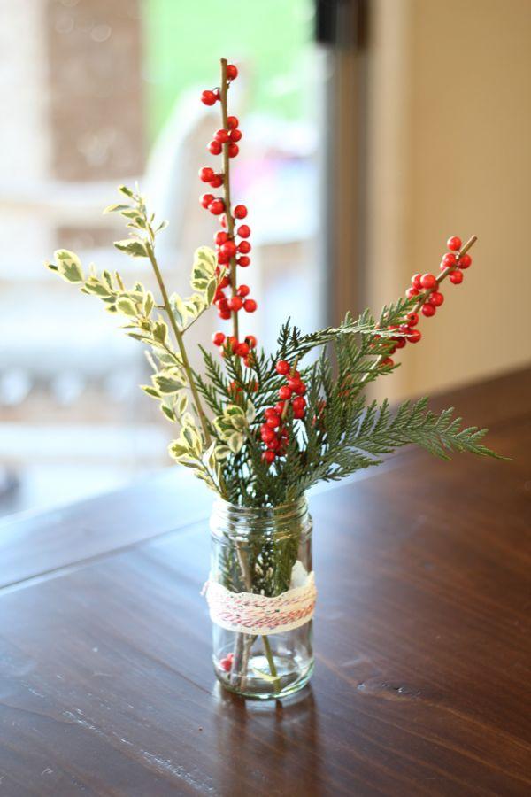 DIY Holiday Centerpiece Hostess Gift5