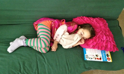 sleeping during quiet hour