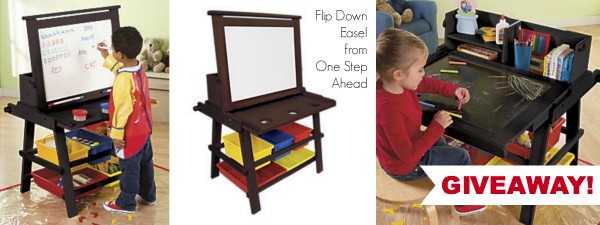 One Step Ahead Easel Giveaway 2 at The Happiest Home