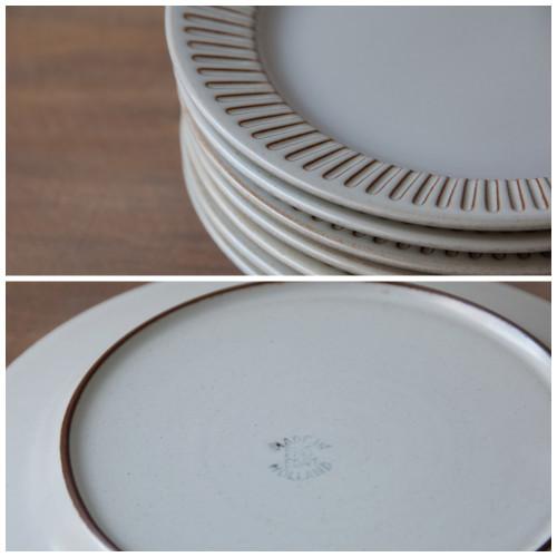 vintage, plates, servingware