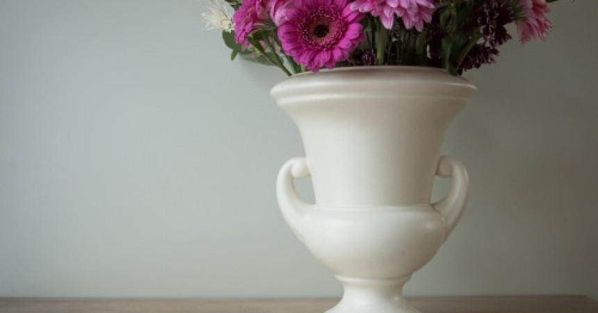 vintage urn vase