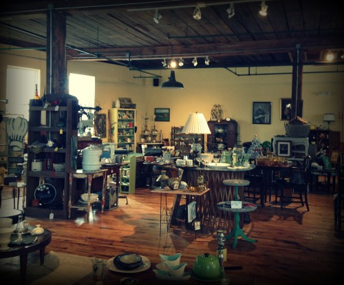 vintage, antique store, flea market