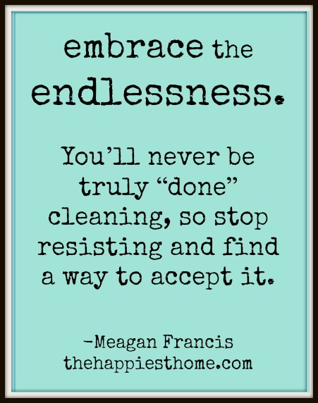 embrace the endlessness