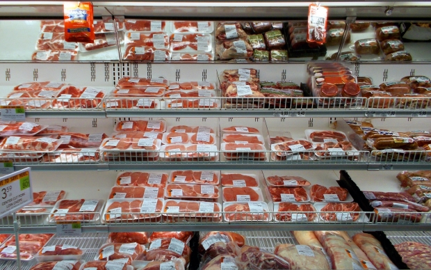 meat, beef, grocery store