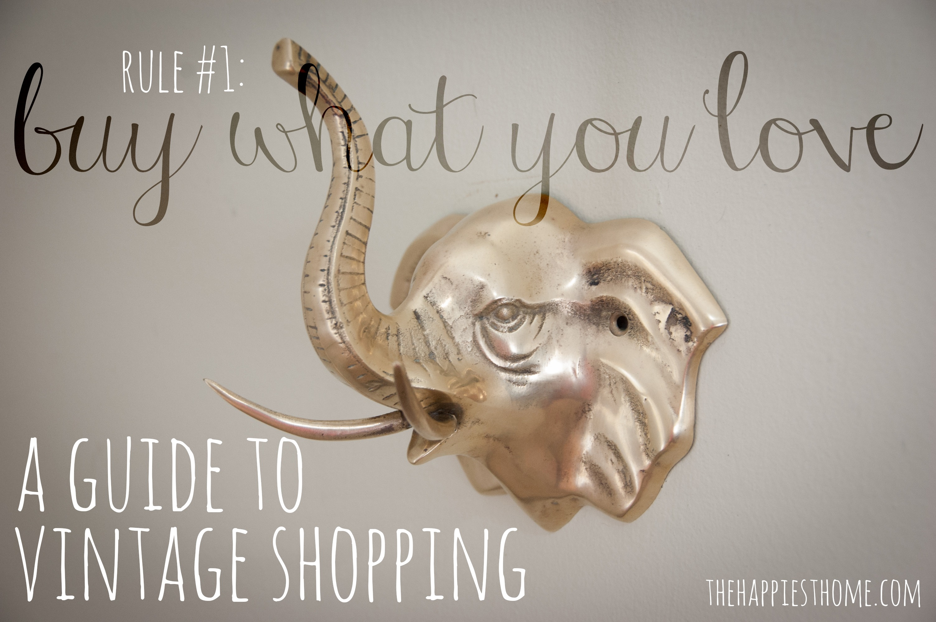 vintage shopping guide