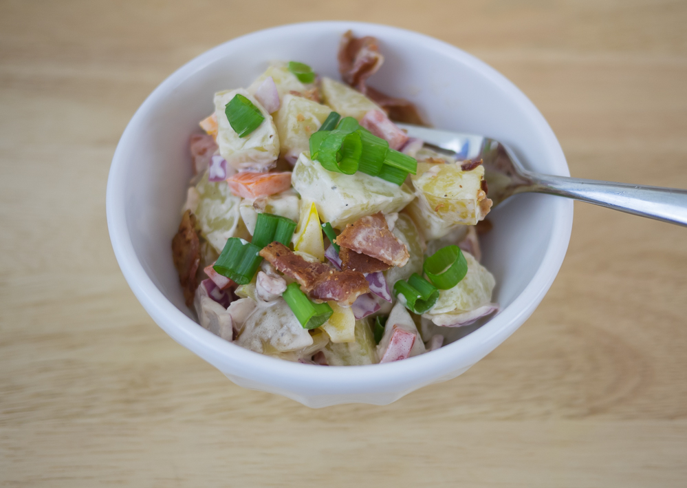 potato salad with Marzetti dressing