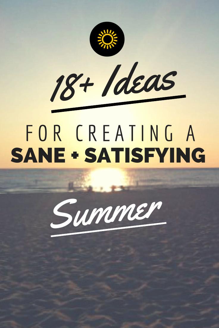 summer, ideas, family, fun