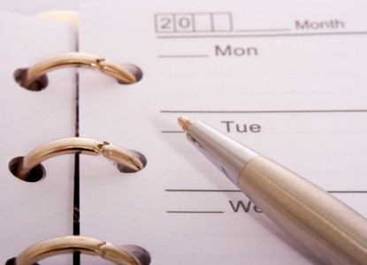 Organizing A Schedule For The Week